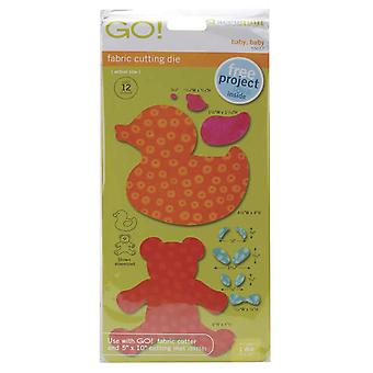 Go! Fabric Cutting Dies Baby, Baby 550 37