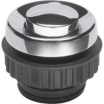 Bell button 1x Grothe 62054 Chrome