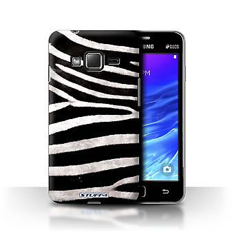 STUFF4 Case/Cover for Samsung Z1/Z130/Zebra/Animal Fur Pattern