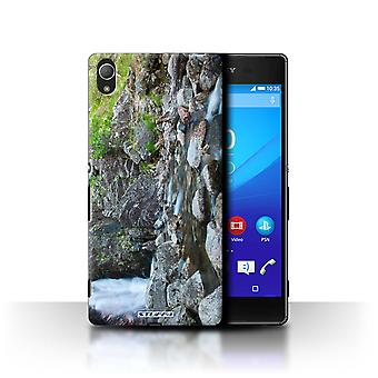STUFF4 Case/Cover for Sony Xperia Z4/Rocky Stream/Scottish Landscape