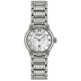 Rotary Womens Mother of Pearl Dial LB02601/07L Watch