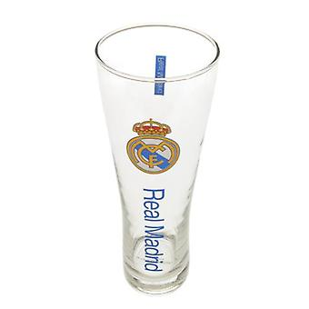 Real Madrid Tall Beer Glass