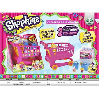Giochi Preziosi Shopkins-The Shopping Trolley + 2 Shopkins