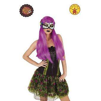 Rubie's Luxury Skull mask Guadalupe Day of the Dead (Costumes)