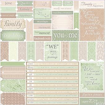 ScrapBerry Wedding ' Single-Sided Cardstock 12