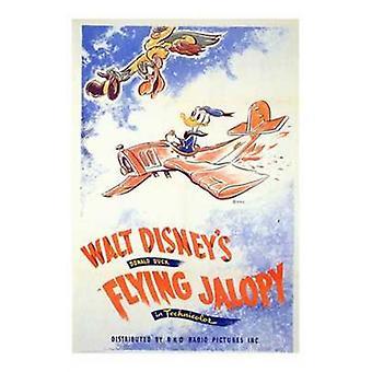 Flying Jalopy Movie Poster (11 x 17)