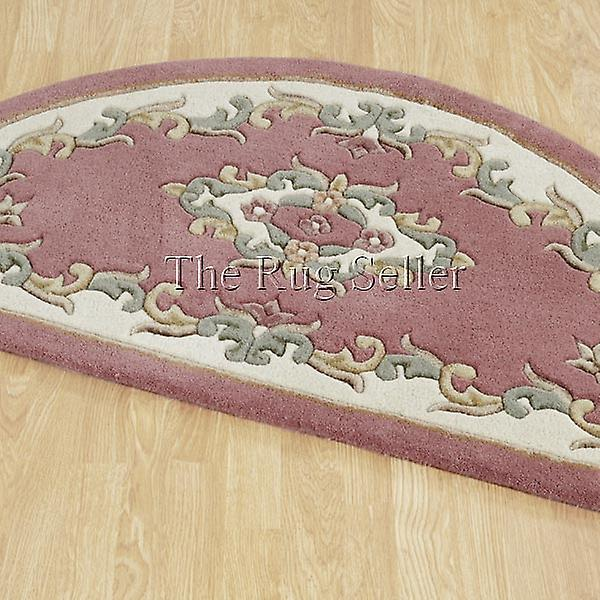 Royal Aubusson Half Moon tepper i rosa krem