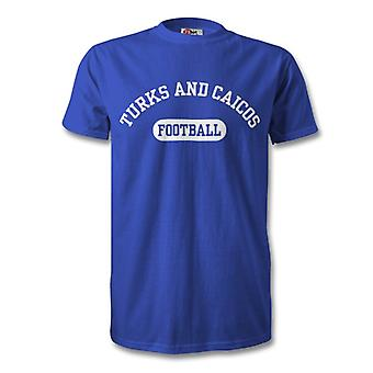 Turks e Caicos calcio t-shirt