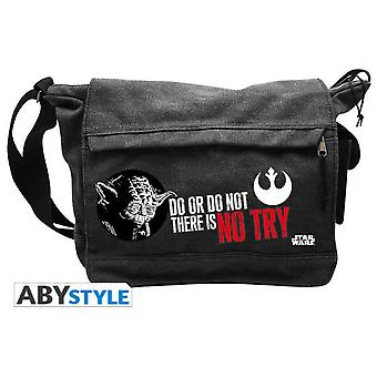Abysse Star Wars Messenger Bag Yoda Big Size (Toys , School Zone , Backpacks)