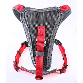 Doodlebone Nylon X-over Harness Red Large