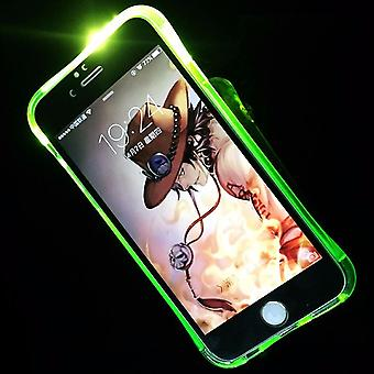 Mobile case LED Licht call for phone Apple iPhone 7 Green