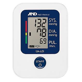 AandD UA-651 waarde bovenarm bloeddrukmonitor (UA651)