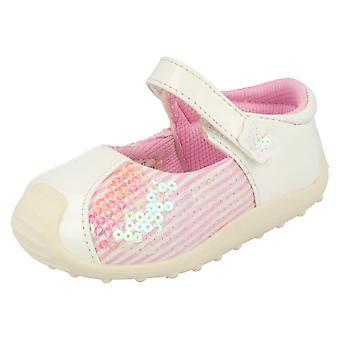 Infant Girls Cutie Sequin Detail Flat Shoes