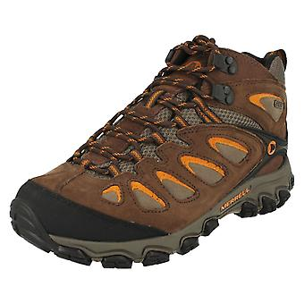 Mens Merrell Waterproof Walking Boots Pulsate Mid Waterproof