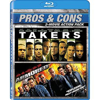 Armored / Takers [Blu-ray] USA import