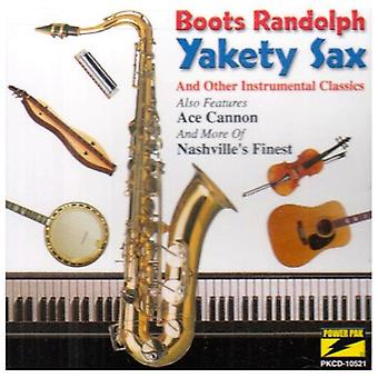 Boots Randolph - Yakety Sax & andre medvirkende [CD] USA import