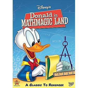 Donald in Mathmagic Land [DVD] USA import