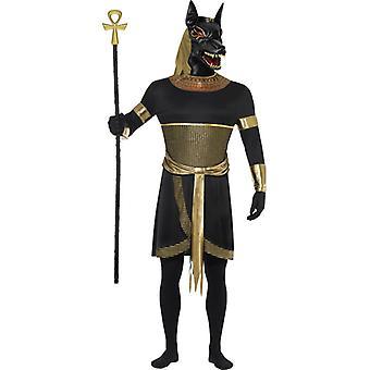 Anubis der Schakal Kostüm Halloween Ägypten Horror Herren