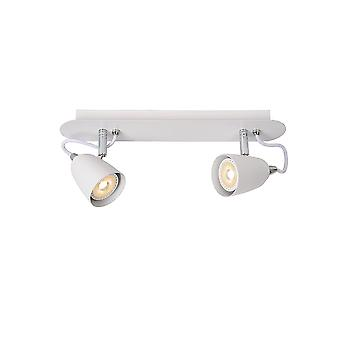 Lucide Ride Bistro LED Ceiling Light White
