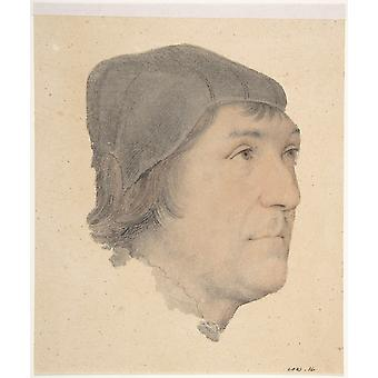 Hans The Younger - Portrait of John Poyntz Poster Print Giclee