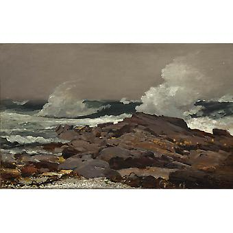 Winslow Homer - Eastern Point Poster Print Giclee