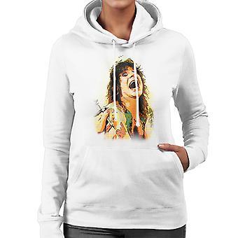 Ozzy Osbourne Getting A Tattoo Women's Hooded Sweatshirt