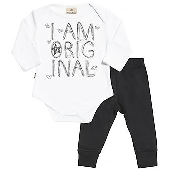 Spoilt Rotten I Am Original Babygrow & Jersey Trousers Outfit Set