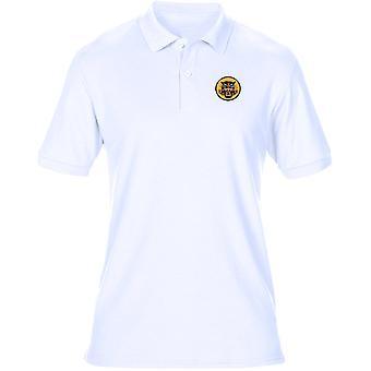 Guerra del Vietnam Tiger ARVN ricamato Logo - Mens Polo Shirt