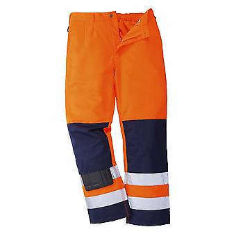 Portwest - Texo Sevilla Workwear Uniform slitesterk Hi-Vis sikkerhet bukser