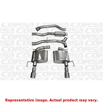 CORSA Performance Cat Back Exhaust 14888 Polished Fits:CADILLAC 2013 - 2015 ATS