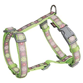 Trixie Modern Art H-Harness For Dogs Blooms