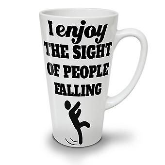 Sarcastic Funny Ironic NEW White Tea Coffee Ceramic Latte Mug 17 oz | Wellcoda