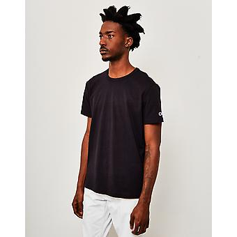 Champion Reverse Weave Crew Neck T-Shirt Black