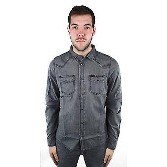 Diesel New-Sonora-E 0WAIB 02 Casual Shirt