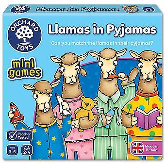 Orchard leker lamaer i Pyjamas reise spillet