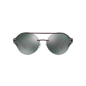 Versace V Powerful Sunglasses In Violet Green Grey Mirror