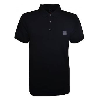 Hugo Boss Casual Men's Passenger Slim Fit Black Polo Shirt