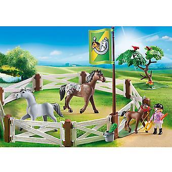 Pferdekoppel PLAYMOBIL Land
