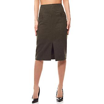 Knee-length pencil skirt medium green rick cardona by heine