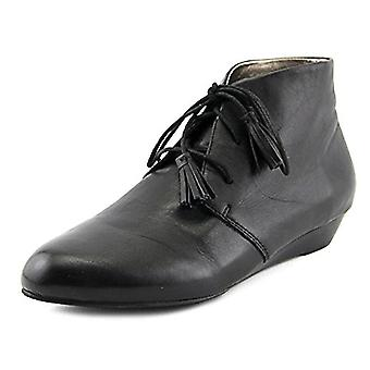 ARRAY Womens Brittney Leather Closed Toe Ankle Fashion Boots