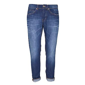 Dondup mens GEORGES21T Blau bomull jeans