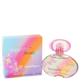 Salvatore Ferragamo Incanto Shine Eau de Toilette 50ml EDT Spray