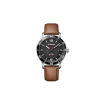 Wenger mens watch Roadster black night 01.1841.105