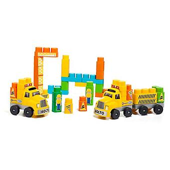 Molto Blocks + 2 truck trailers (Babies and Children , Toys , Constructions)