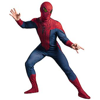The Amazing Spider-Man Deluxe Marvel Superhero Comic Con Men Costume XL