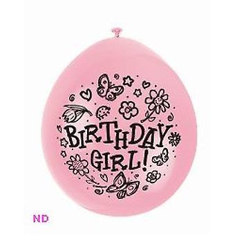 Balloner 'Fødselsdag pige' 9