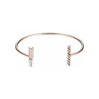 ESPRIT ladies bracelet Bangle Bracelet stainless steel Rosé ESBA11410C580