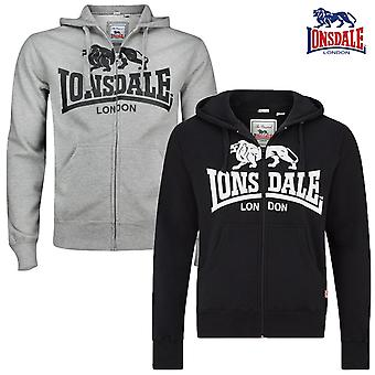 Lonsdale men's Zip Hoody Krafty