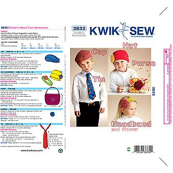 About Town Accessories-No Size -*SEWING PATTERN*