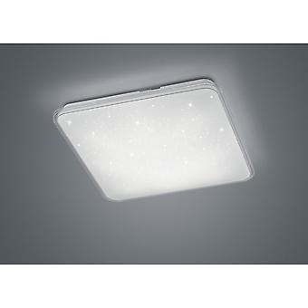 Trio Lighting Contrast Modern White Plastic Ceiling Lamp